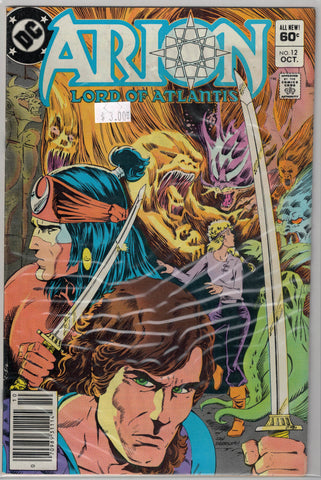 Arion: Lord of Atlantis Issue #12 DC Comics $3.00
