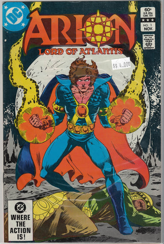 Arion: Lord of Atlantis Issue # 1 DC Comics $4.00