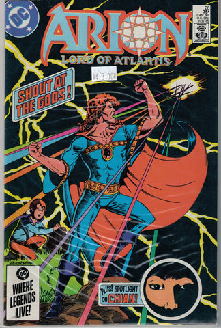 Arion: Lord of Atlantis Issue #28 DC Comics $3.00
