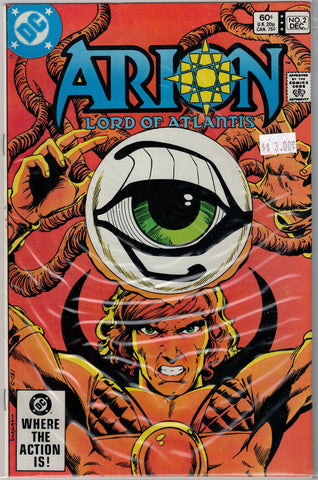 Arion: Lord of Atlantis Issue # 2 DC Comics $3.00
