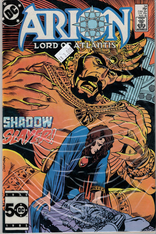 Arion: Lord of Atlantis Issue #34 DC Comics $3.00