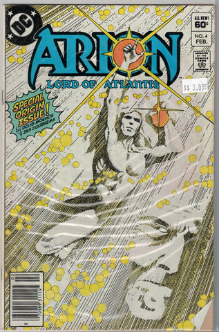 Arion: Lord of Atlantis Issue # 4 DC Comics $3.00