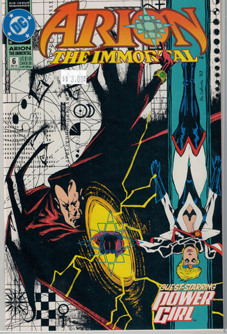 Arion the Immortal Issue # 6 DC Comics $3.00