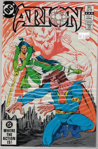 Arion: Lord of Atlantis Issue # 6 DC Comics $3.00