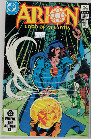Arion: Lord of Atlantis Issue # 8 DC Comics $3.00