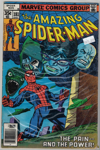 Amazing Spider-Man Issue # 181 Marvel Comics $14.00