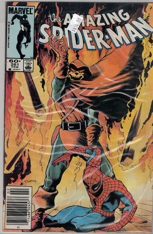 Amazing Spider-Man Issue # 261 Marvel Comics  $14.00