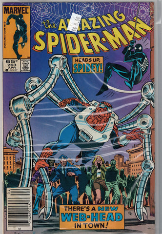 Amazing Spider-Man Issue # 263 Marvel Comics $8.00