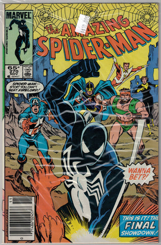 Amazing Spider-Man Issue # 270 Marvel Comics  $10.00