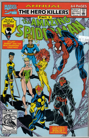 Amazing Spider-Man Issue # Annual 26 Part 1 Marvel Comics $5.00