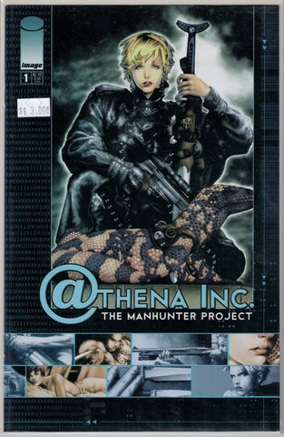 Athena Inc. The Manhunter Project Issue 1 (One woman on the cover) Image Comics $3.00
