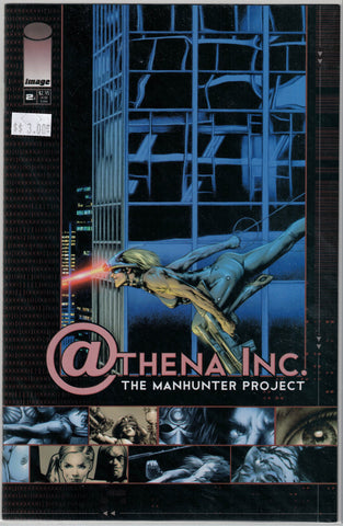 Athena Inc. The Manhunter Project Issue 2B Image Comics $3.00