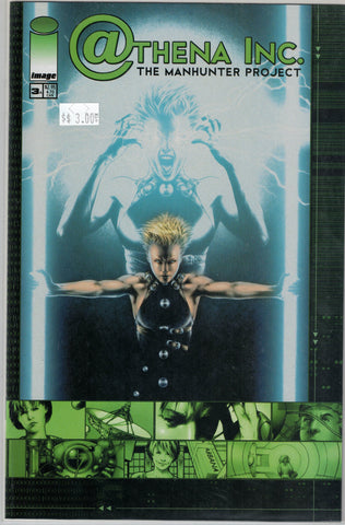 Athena Inc. The Manhunter Project Issue 3A Image Comics $3.00