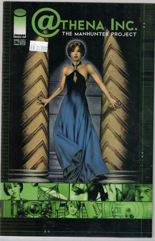 Athena Inc. The Manhunter Project Issue 3B Image Comics $3.00
