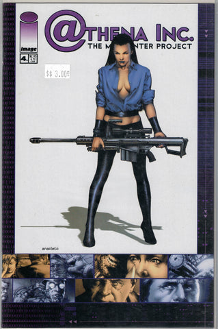 Athena Inc. The Manhunter Project Issue 4A Image Comics $3.00