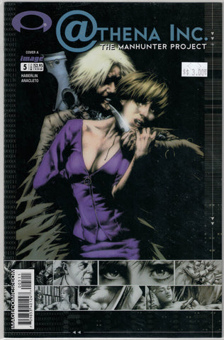 Athena Inc. The Manhunter Project Issue 5A Image Comics $3.00