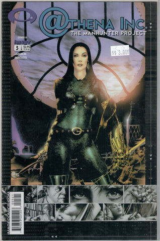 Athena Inc. The Manhunter Project Issue 5B Image Comics $3.00