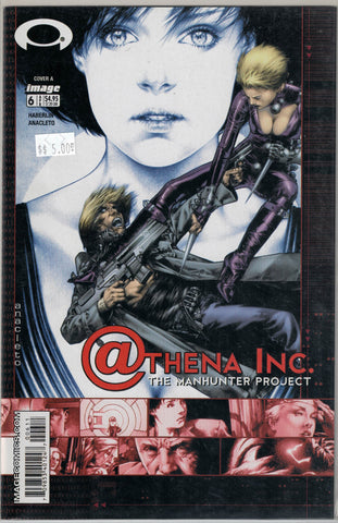 Athena Inc. The Manhunter Project # 6 (Cover A) Image Comics  $5.00