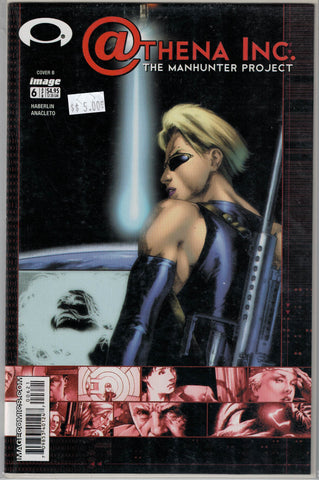 Athena Inc. The Manhunter Project # 6 (Cover B) Image Comics  $5.00
