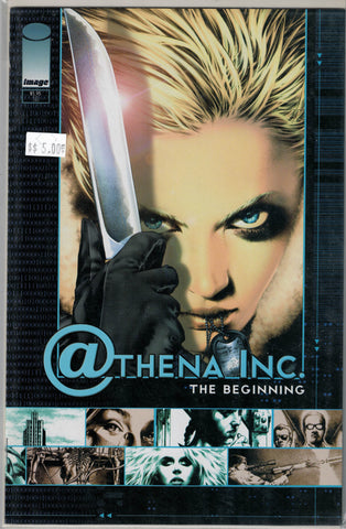 Athena Inc. The Beginning Image Comics  $5.00