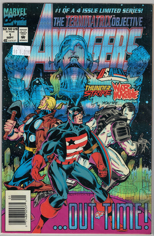 Avengers Issue # The Terminatrix Objective # 1 (Foil Cover) Marvel Comics  $4.00