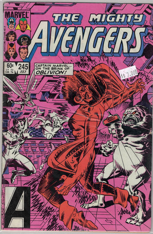 Avengers Issue # 245 Marvel Comics $3.00