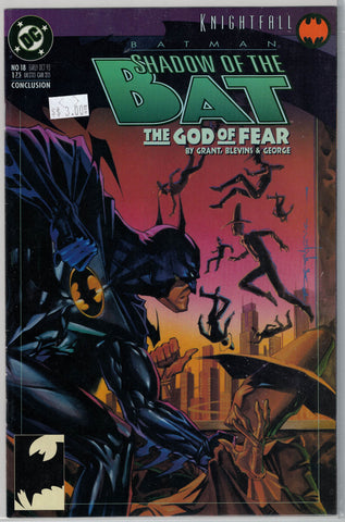 Batman: Shadow of the Bat Issue #18 DC Comics $3.00