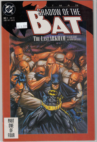 Batman: Shadow of the Bat Issue # 1 DC Comics $4.00