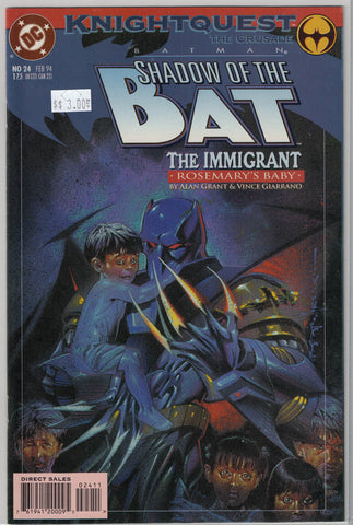 Batman: Shadow of the Bat Issue #24 DC Comics $3.00