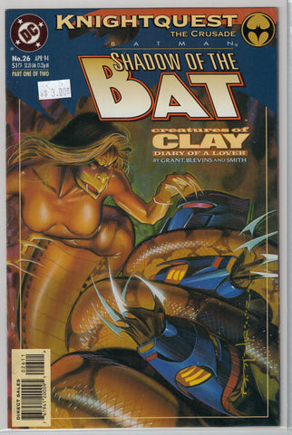 Batman: Shadow of the Bat Issue #26 DC Comics $3.00