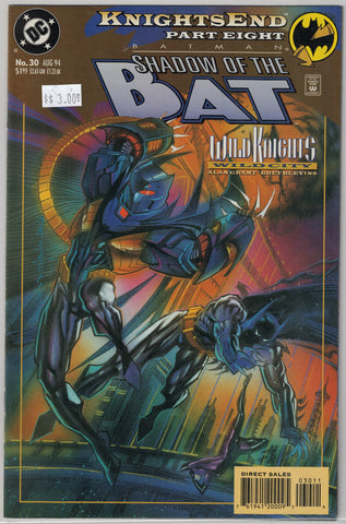 Batman: Shadow of the Bat Issue #30 DC Comics $3.00