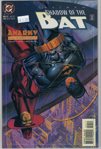 Batman: Shadow of the Bat Issue #41 DC Comics $3.00