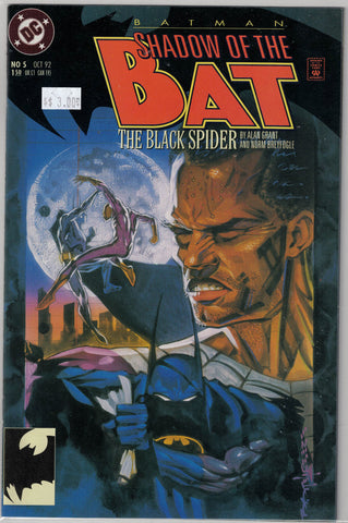 Batman: Shadow of the Bat Issue # 5 DC Comics $3.00