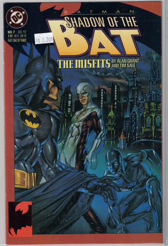 Batman: Shadow of the Bat Issue # 7 DC Comics $3.00