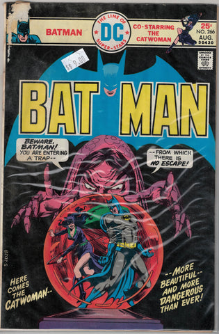 Batman Issue # 266 DC Comics  $9.00
