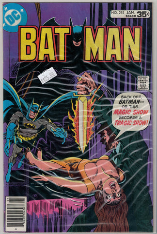 Batman Issue # 295 DC Comics $25.00