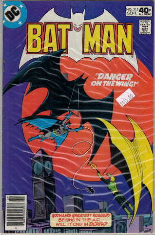 Batman Issue # 315 DC Comics $15.00