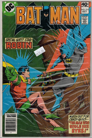 Batman Issue # 316 DC Comics $18.00