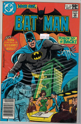 Batman Issue # 339 DC Comics $12.00