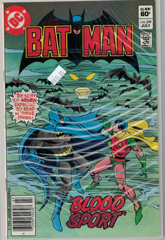 Batman Issue # 349 DC Comics $15.00