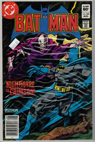 Batman Issue # 350 DC Comics $15.00