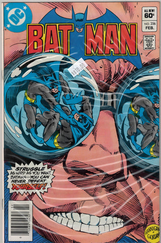Batman Issue # 356 DC Comics $10.00