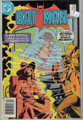 Batman Issue # 378 DC Comics $8.00