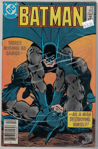 Batman Issue # 402 DC Comics $8.00
