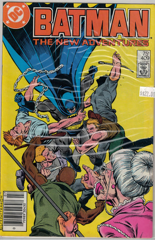 Batman Issue # 409 DC Comics  $22.00