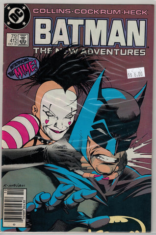 Batman Issue # 412 DC Comics $6.00
