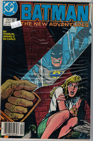 Batman Issue # 414 DC Comics $6.00