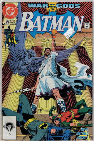 Batman Issue # 470 DC Comics $4.00