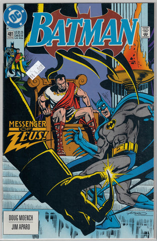 Batman Issue # 481 DC Comics $4.00