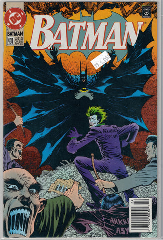 Batman Issue # 491 DC Comics $6.00
